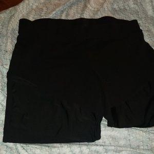 Pants - silky inlay leggings